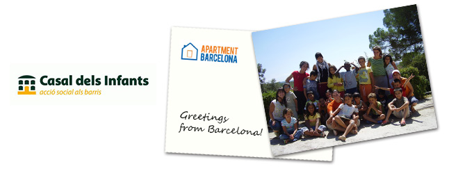 Apartment Barcelona collaborates with the Casal dels Infants in the new edition of Checking Solidario