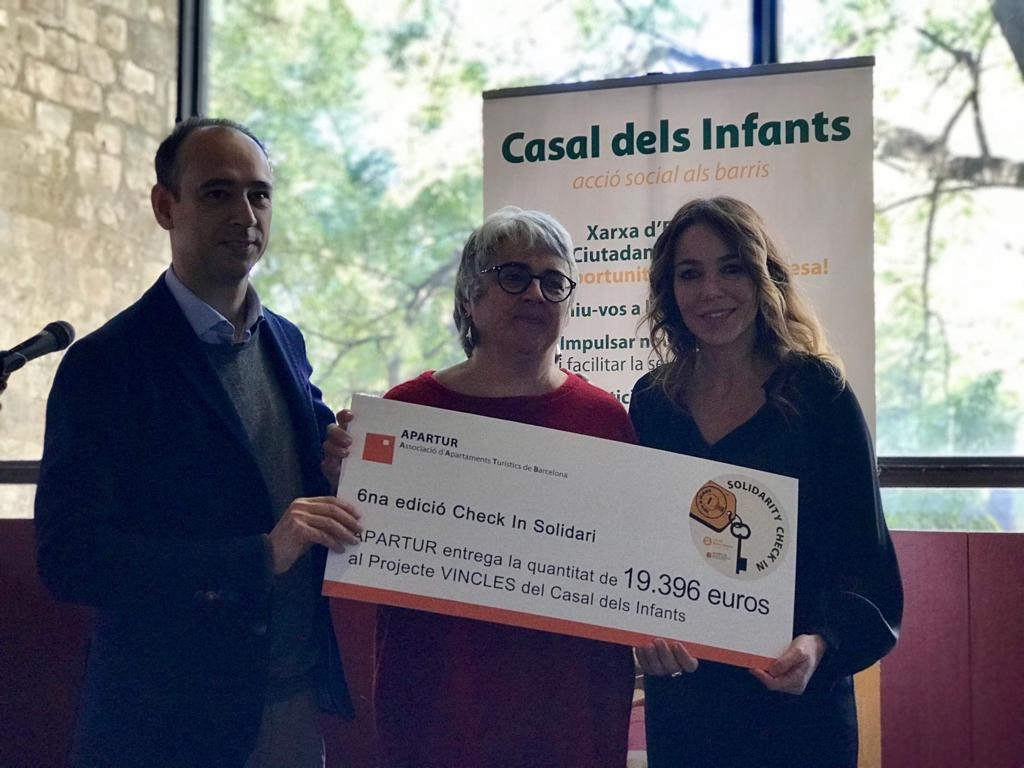 AB Apartment Barcelona helps raise €19,396 for charity project tackling child poverty